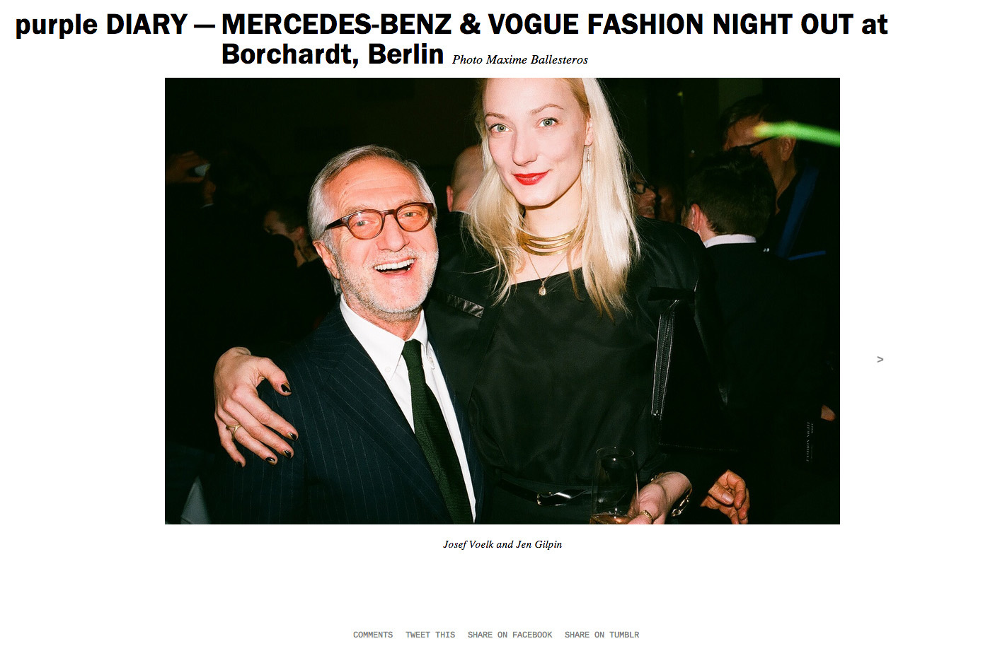 purple DIARY   MERCEDES BENZ   VOGUE FASHION NIGHT OUT at Borchardt  Berlin.jpg