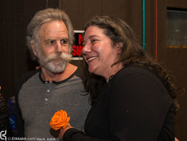 Bob Weir and Annabelle Garcia