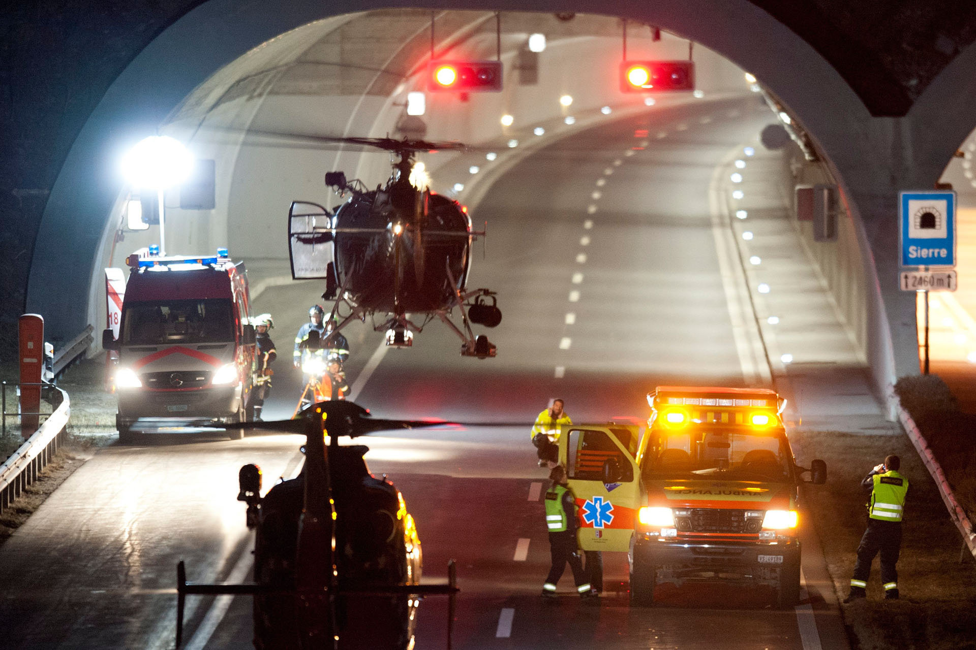 Accident car - Sierre - 2012