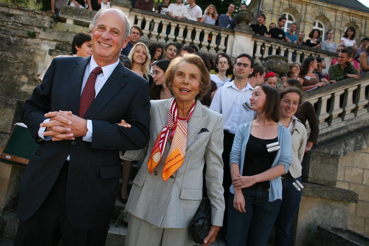 Liliane Bettencourt et Patrice de Maistre