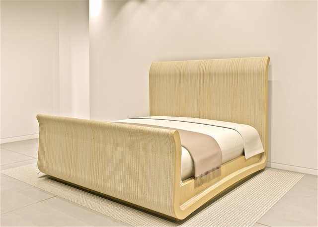 PLYWOOD SLEIGHBED