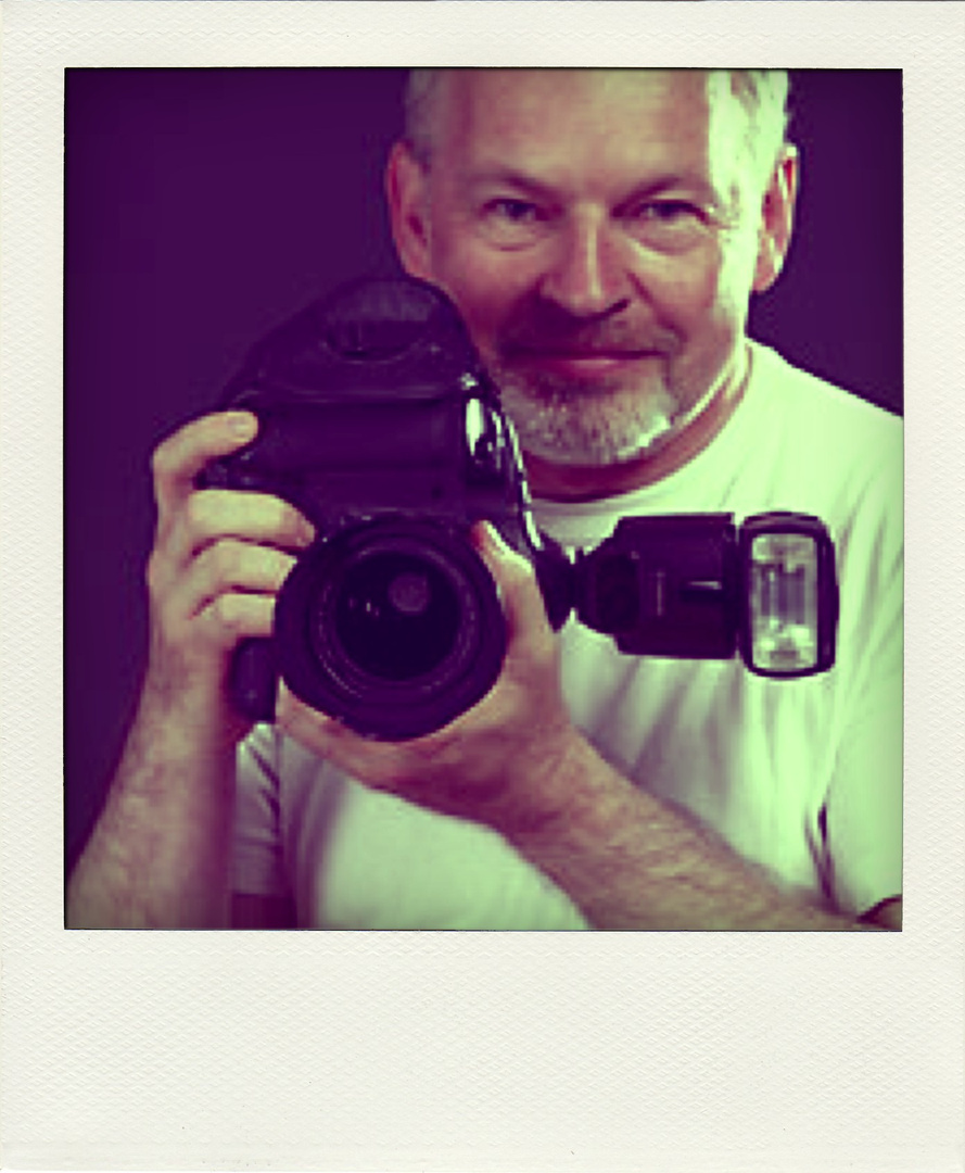 Michael Cheetham polaroid mockup