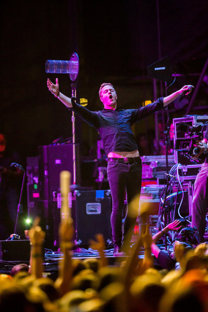 Imagine Dragons at Life Is Beautiful Festival