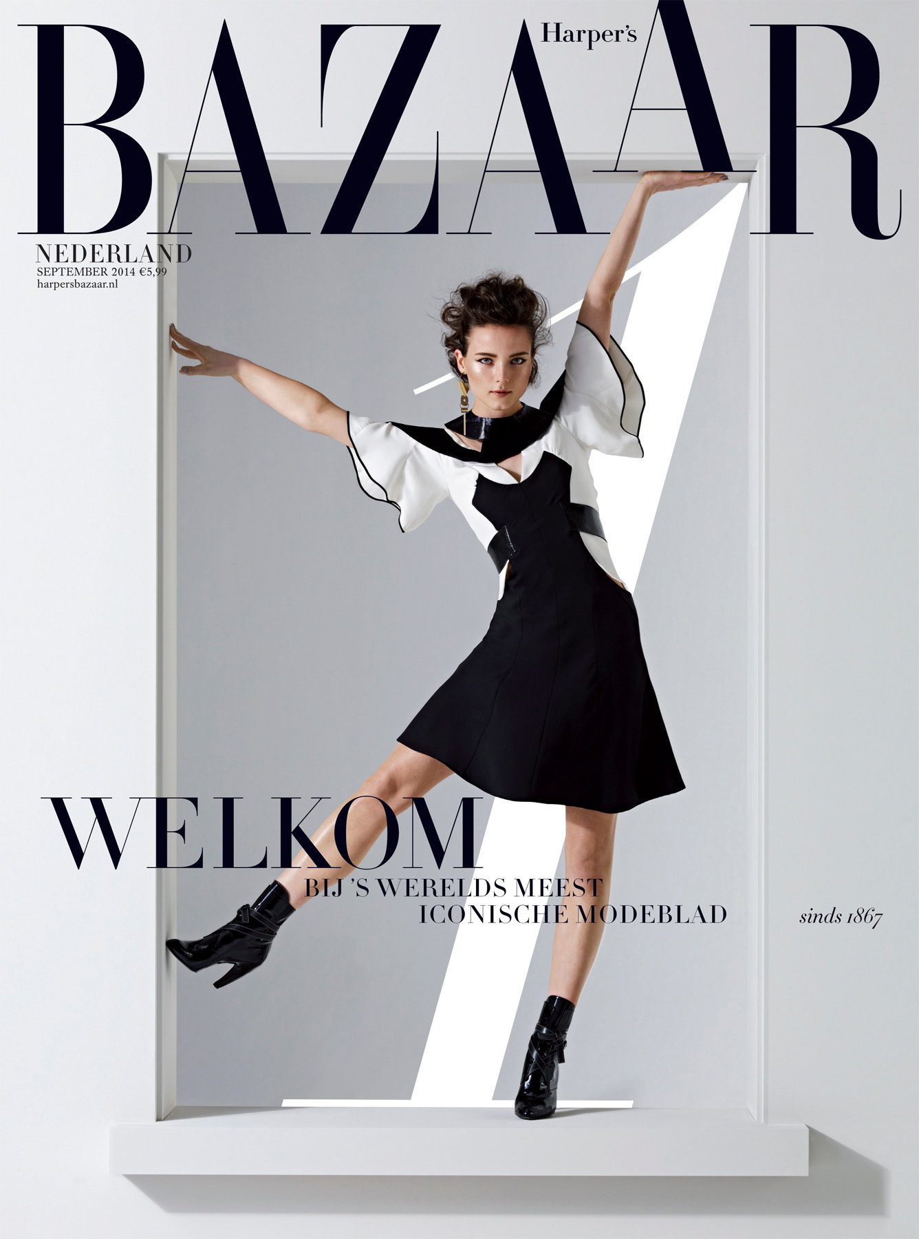 Harpers Bazaar NL issue #1