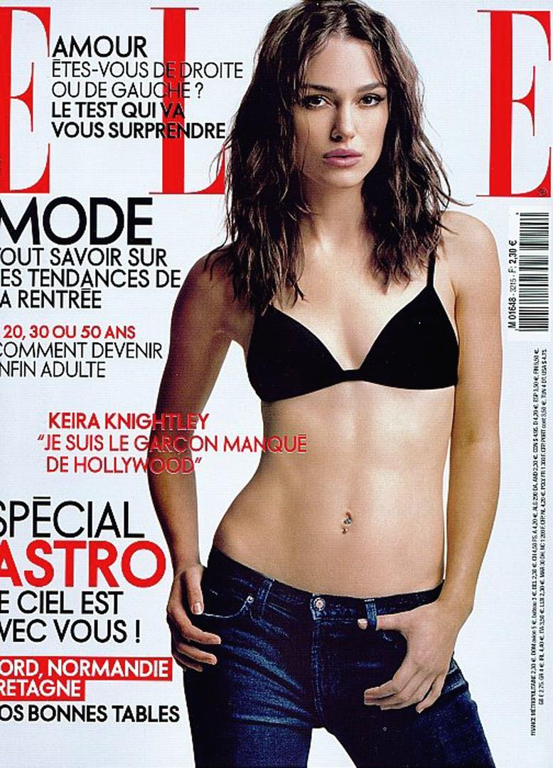 French Elle . Nino Munoz . Keira Knightley