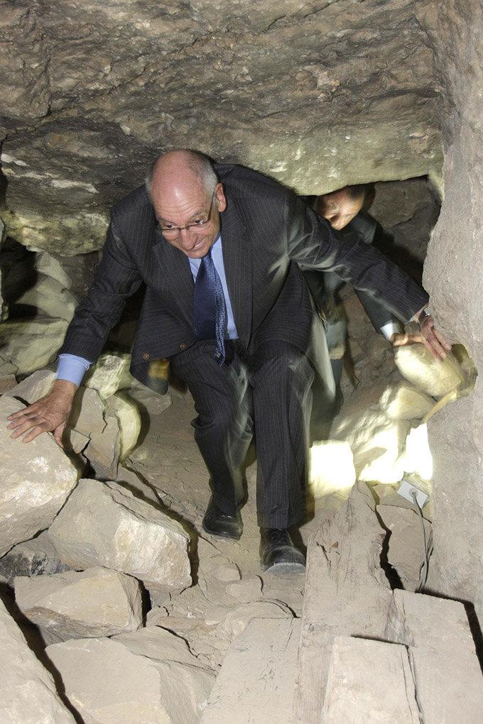 Pascal Couchepin - Pyramide - Egypte -