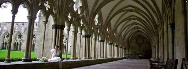 The Cloisters Salisbury Cathedral