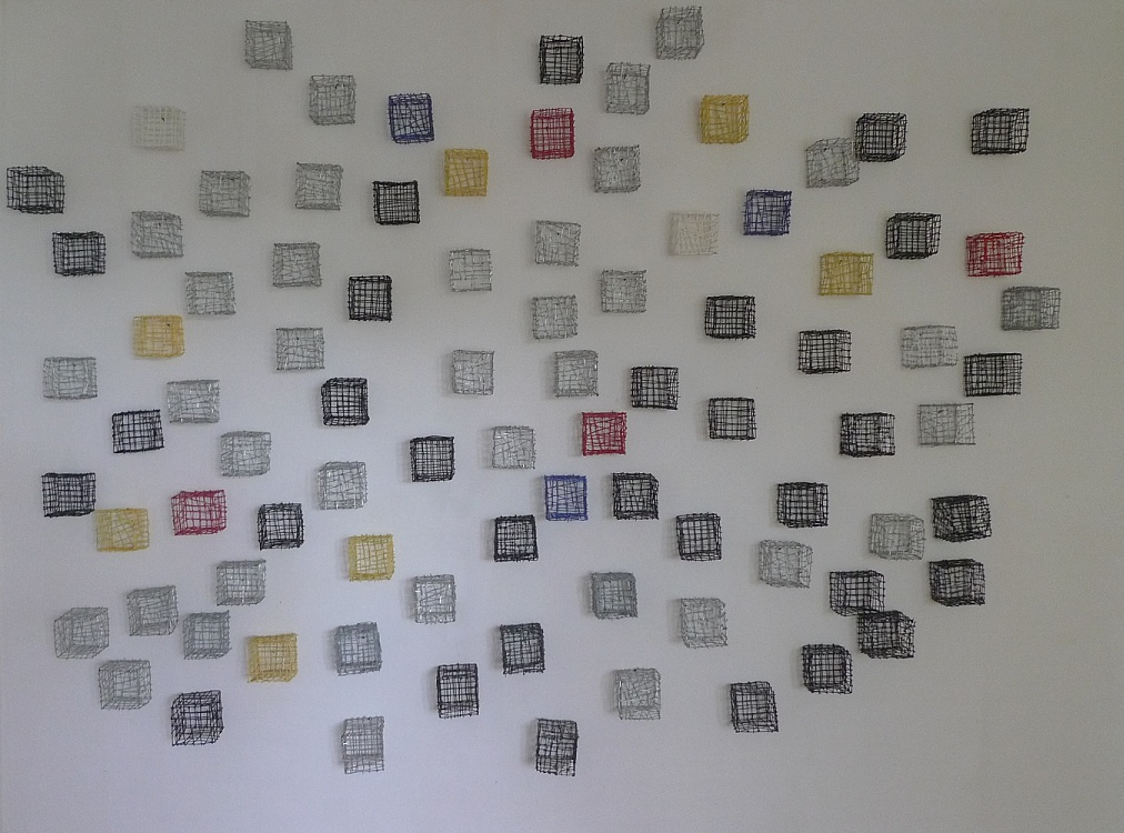 Twin Cubes: up to 1Hundred Art Works