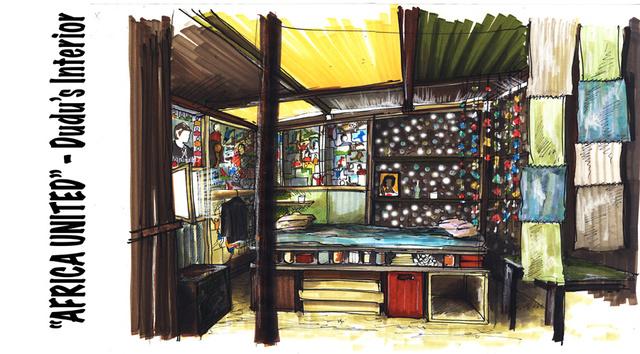 'Dudu's' Interior shack