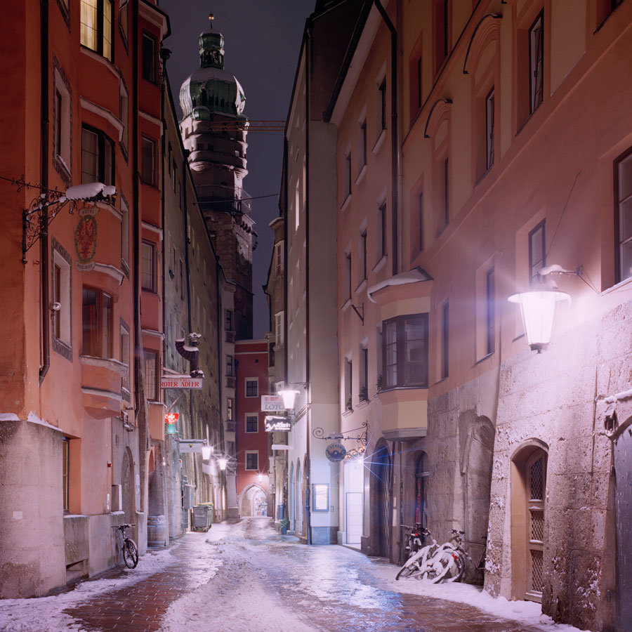"""47˚16'5.19""""N, 11˚23'32.6""""E - Innsbruck, Austria"""