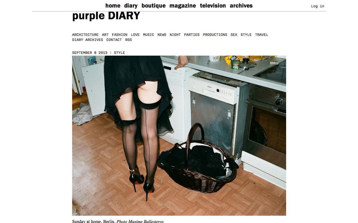 purple DIARY   Sunday at home  Berlin. Photo Maxime.jpg