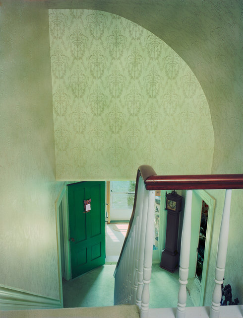 Untitled Interior (green stairwell), 2005