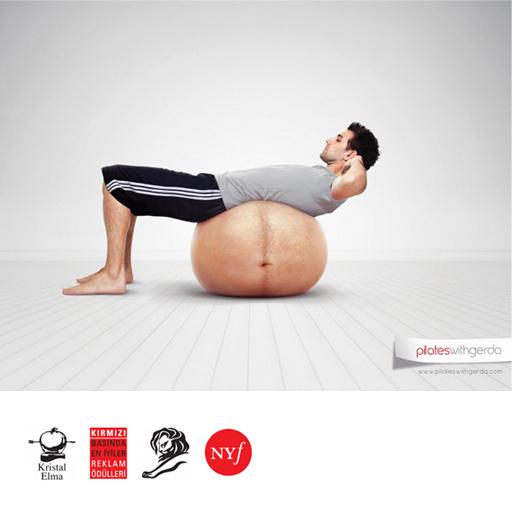 Pilates with Gerda  Press Ads