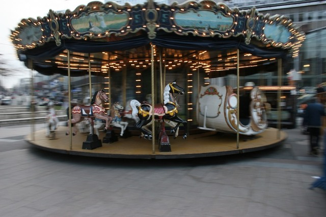 Carrousel à Montmartre