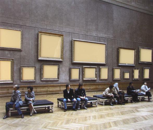 Musee du Louvre III, 1989, Paris
