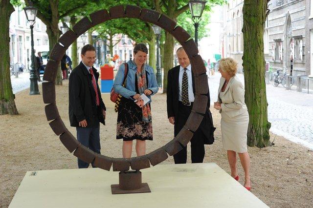 Beelden in Leiden, mei 2012