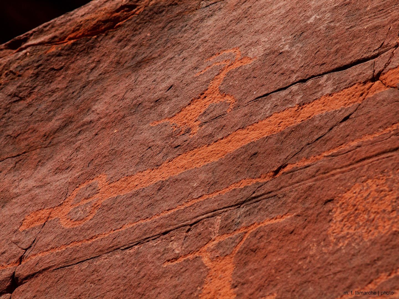 Atlatl Rock Petroglyphs