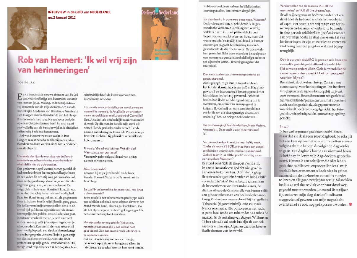Interview with Rob van Hemert