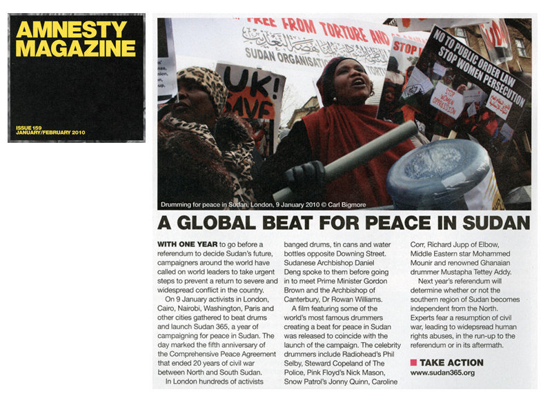 Amnesty International Magazine