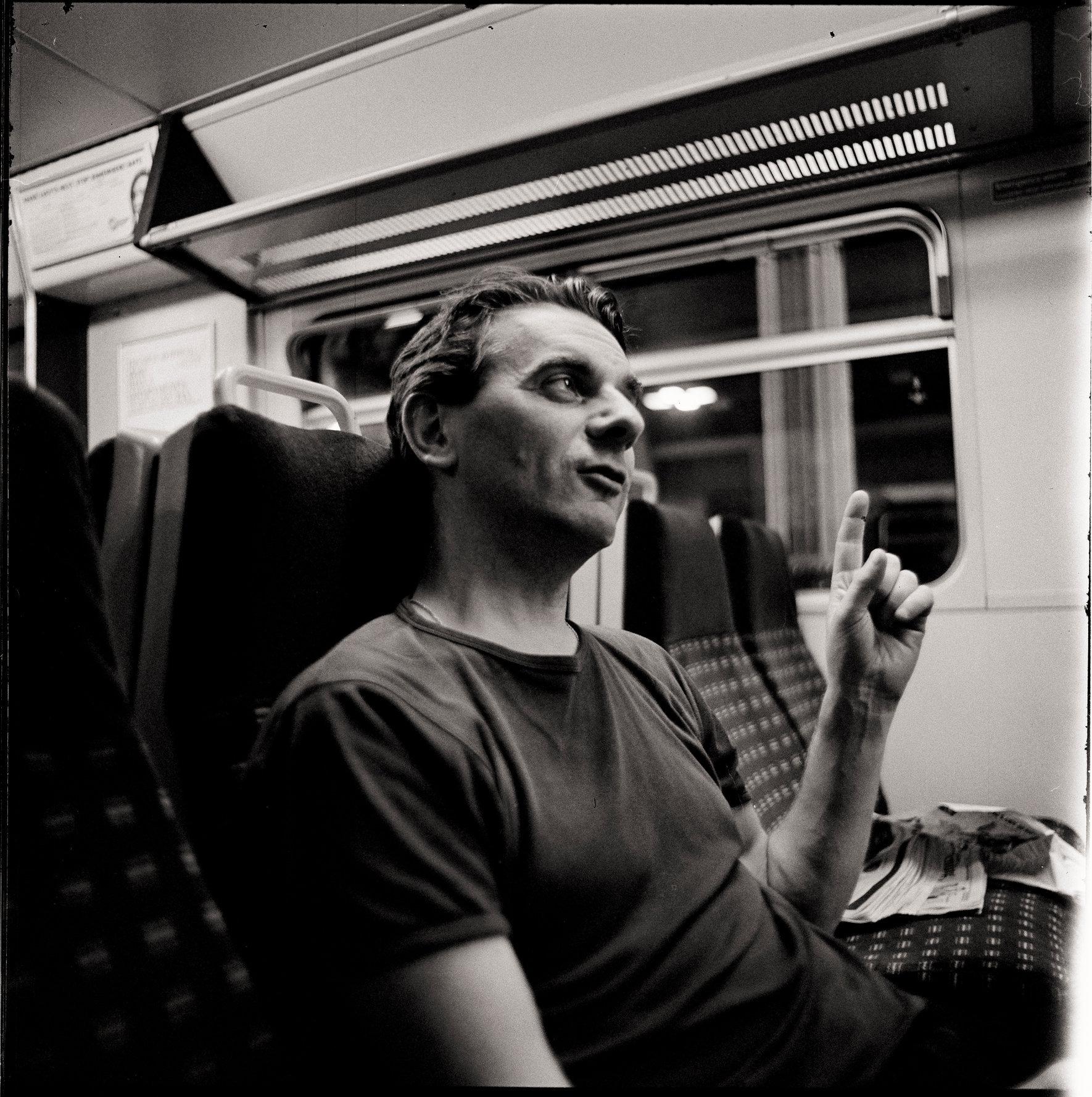CONOR MC MAHON,LAST TRAIN TO SUTTON,LONDON