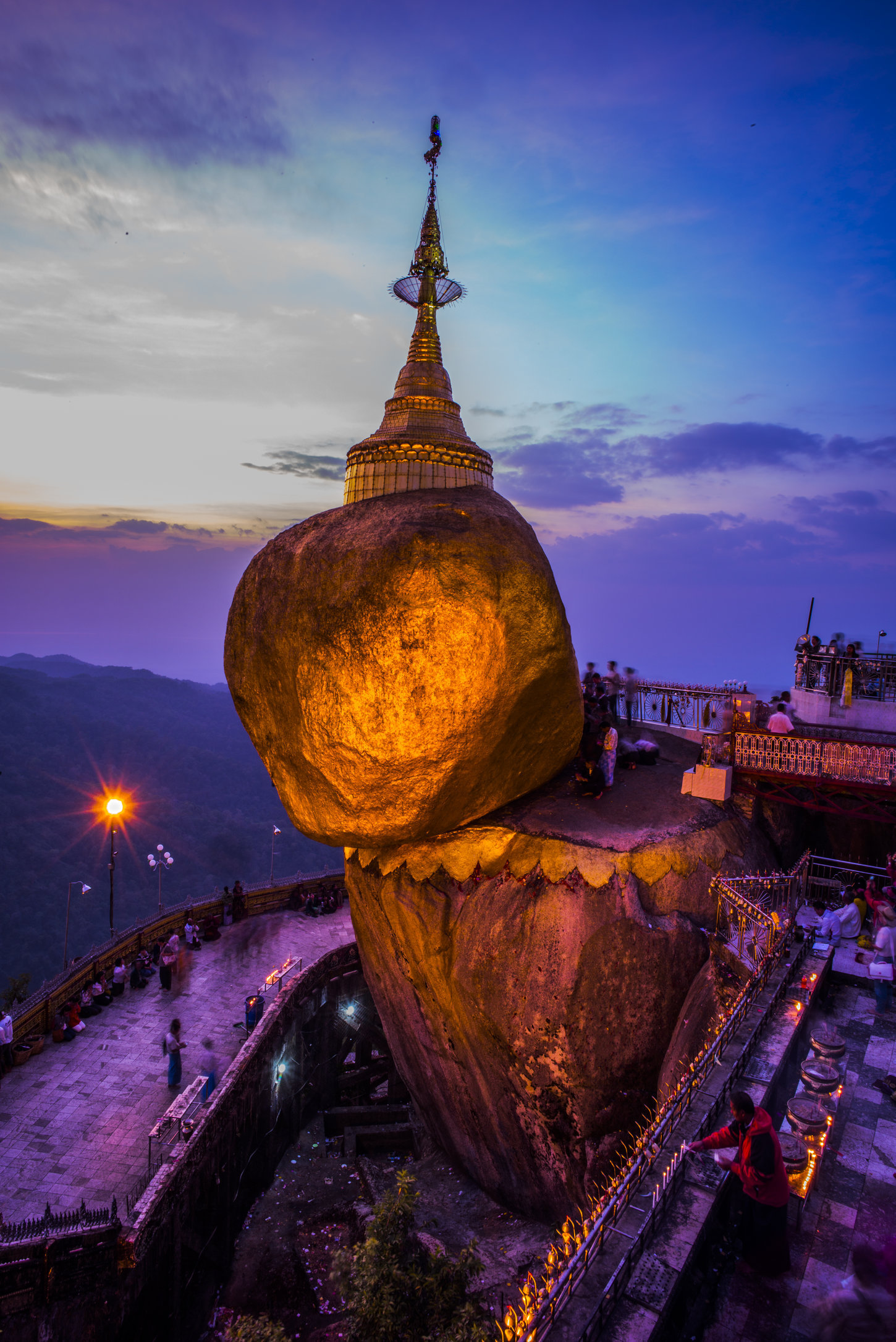 Golden Rock, Myanmar. 2015.