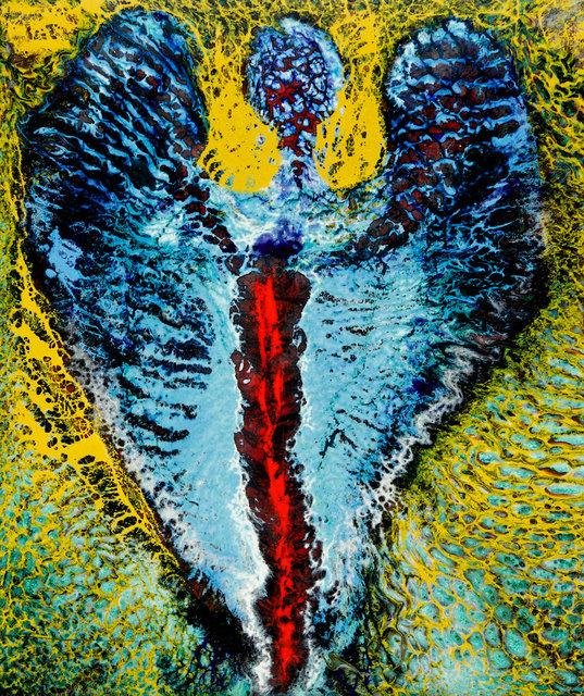 Ein Engel - Cherubim  (mit flammendem Schwert)