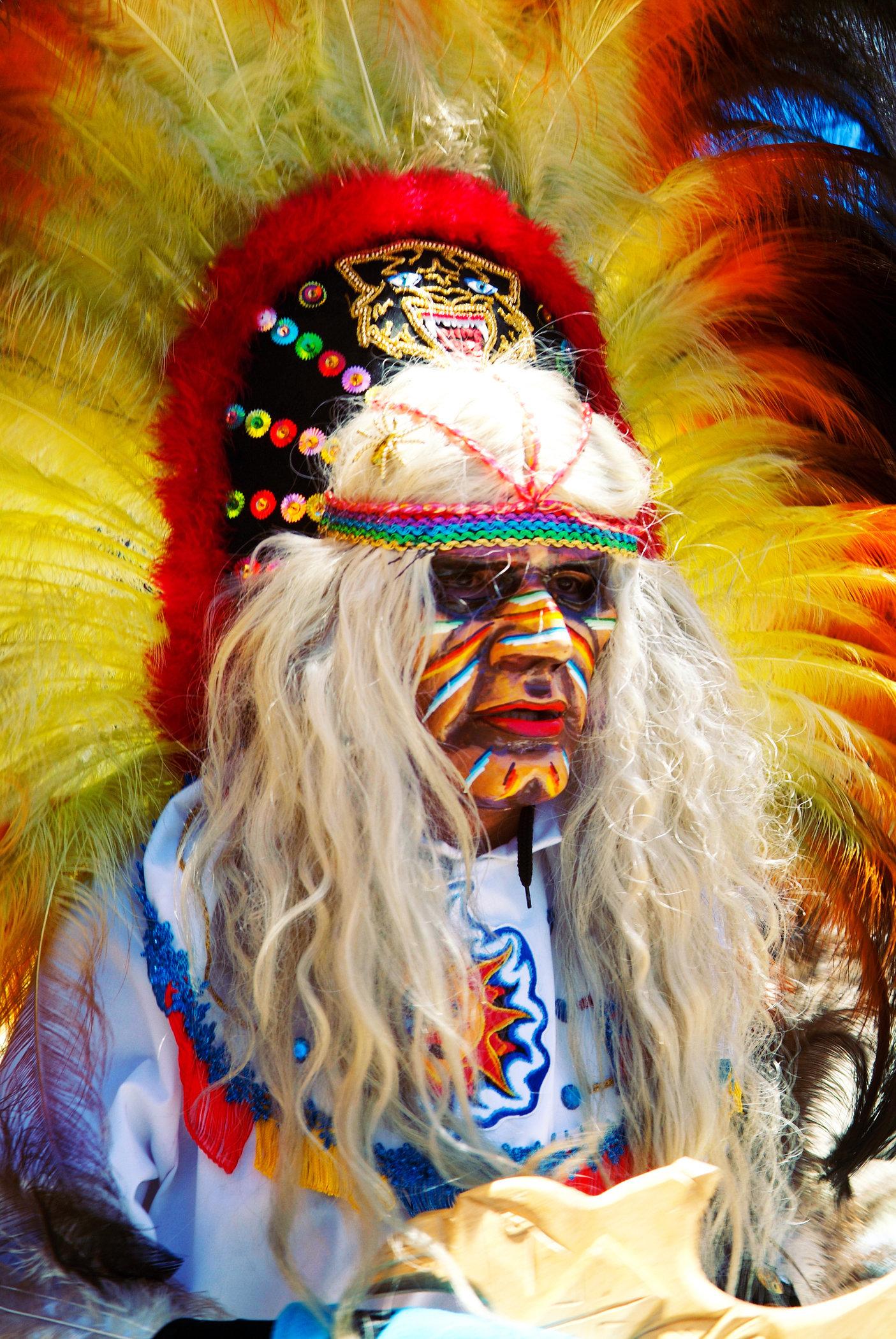 Masked Folklore Dancer II
