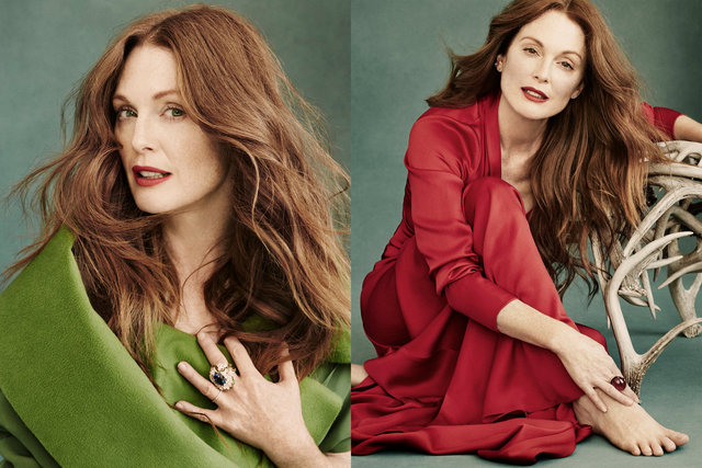 Town&Country. Julianne Moore. December/ January, 2015.