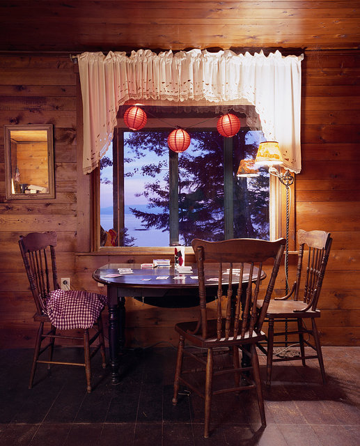 Untitled Interior (red lanterns), 2009