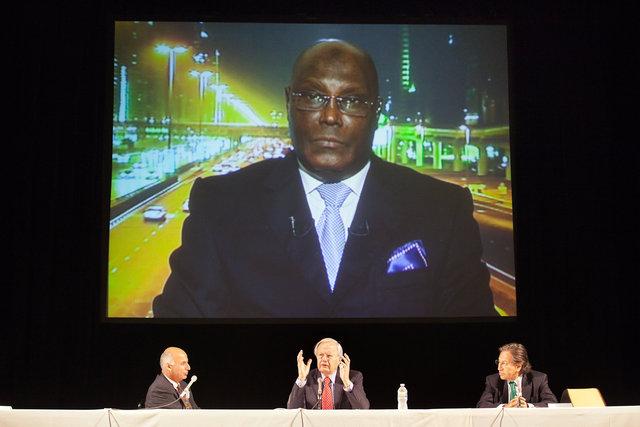 Former Vice President Atiku Abubakar of Nigeria