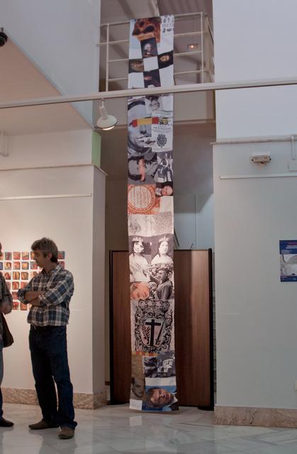 Memory Scrolls Installation at Casa de la Cultura in Valencia, Spain