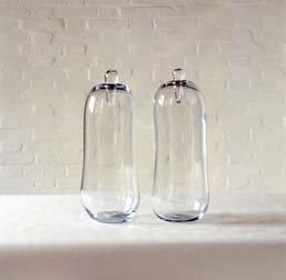 Two Slender Vases