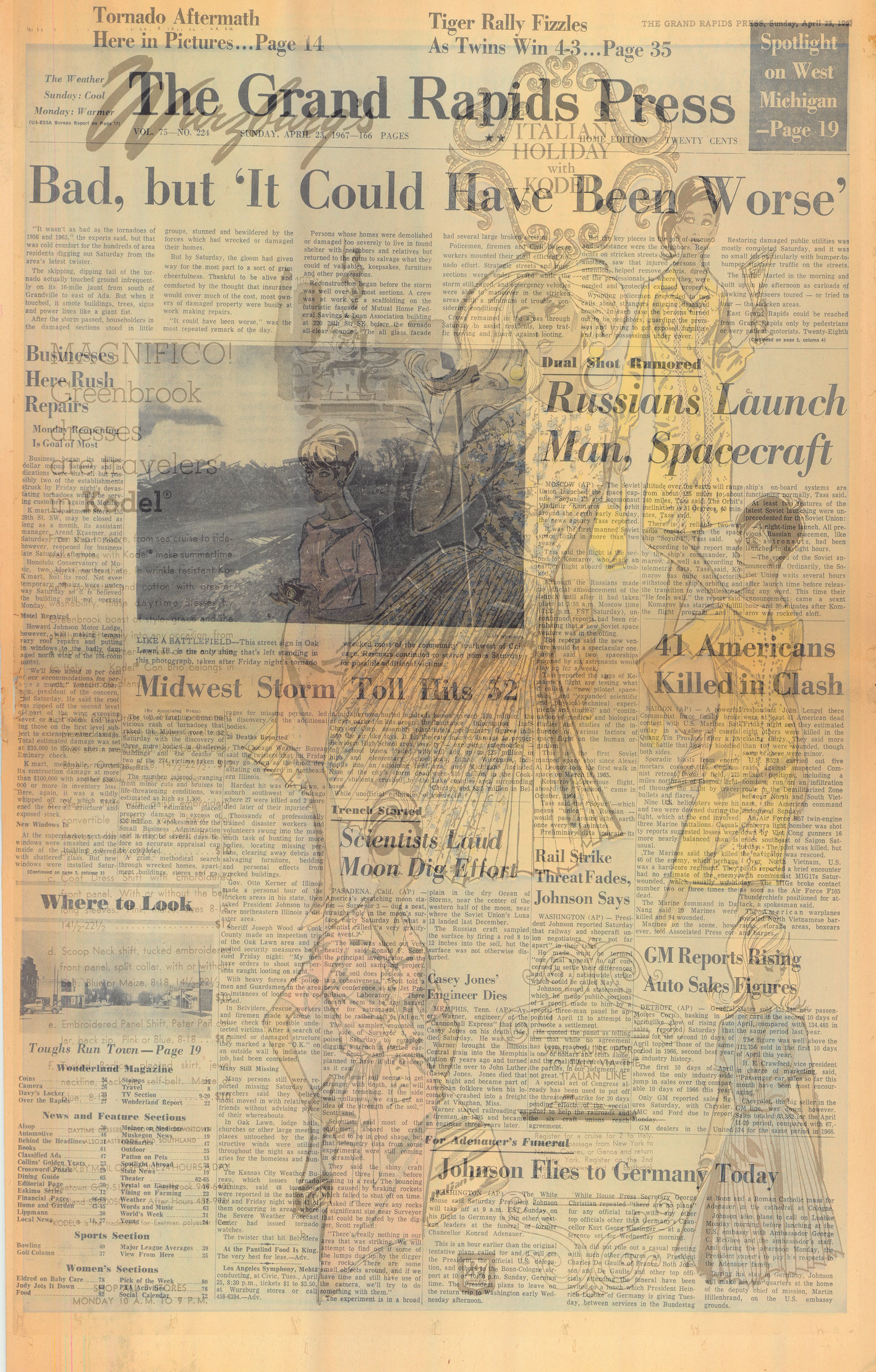 April 23, 1967