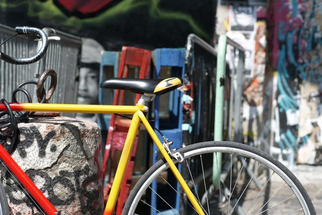 Yellow Red Bike