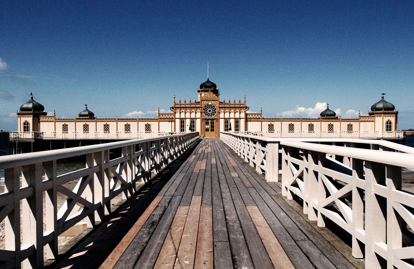 Badhuizen aan de westkust van Zweden