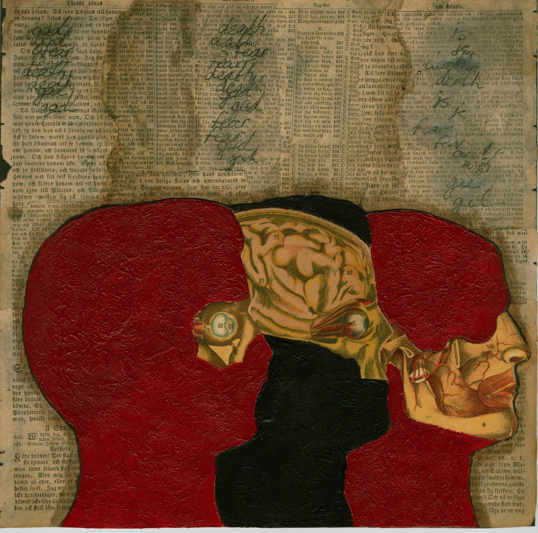 Inside the Skull of a Mannequin