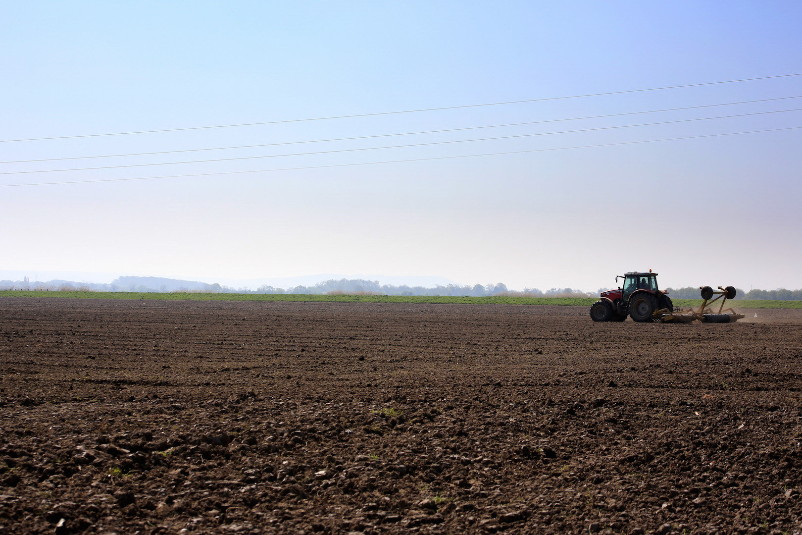 Ploughing, Bosley Mill Farm, Gloucestershire