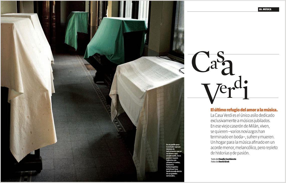 Casa Verdi. Milan.
