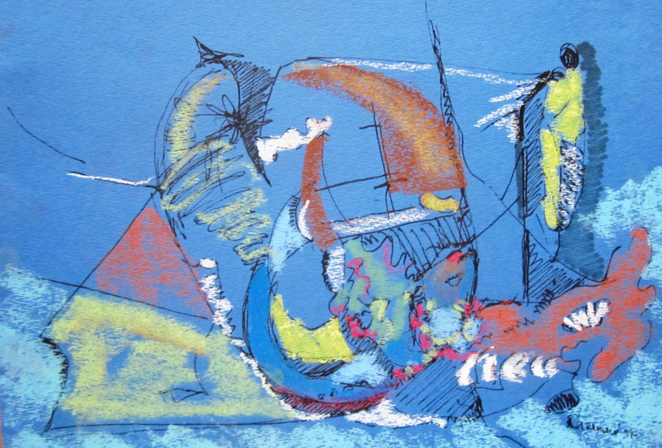 Seascape in two directions, 1992
