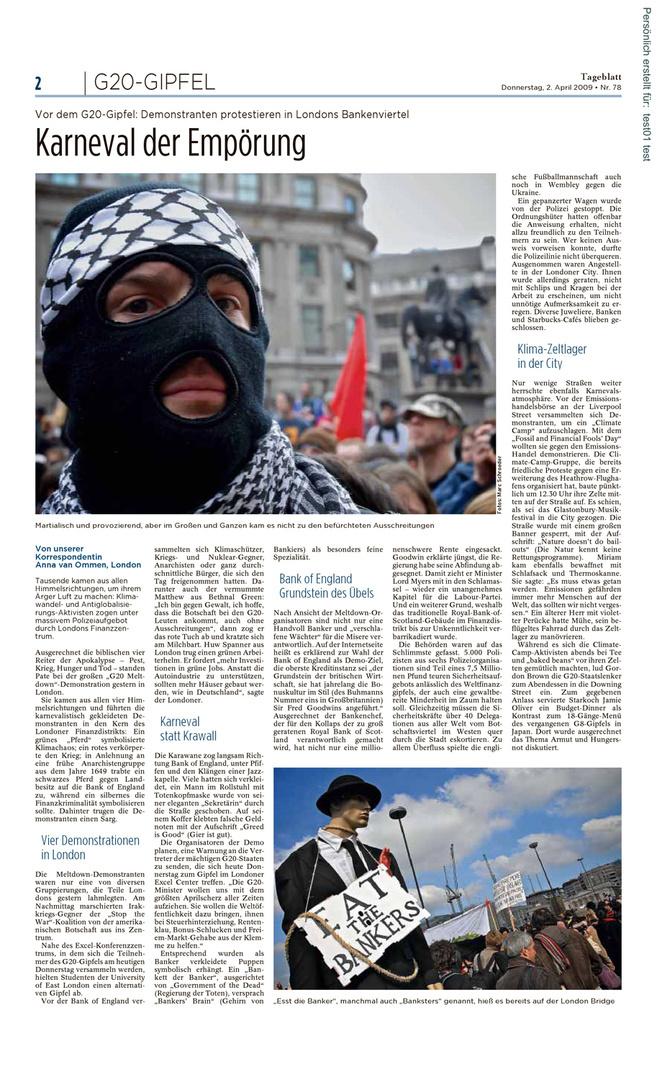 Tageblatt Luxembourg 2