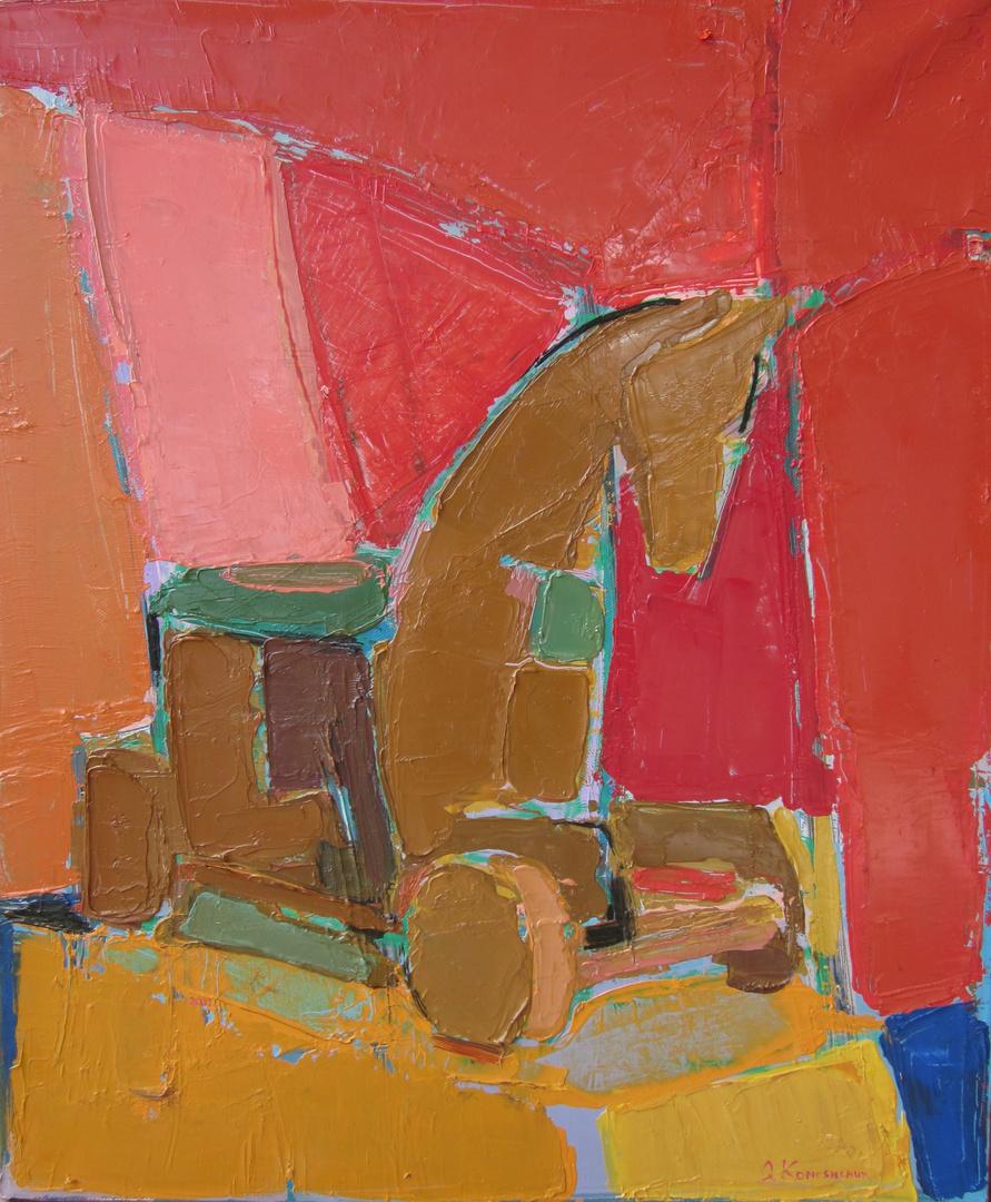 'Wooden horse III'