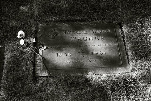Natalie 1981, Westwood Cemetery LA