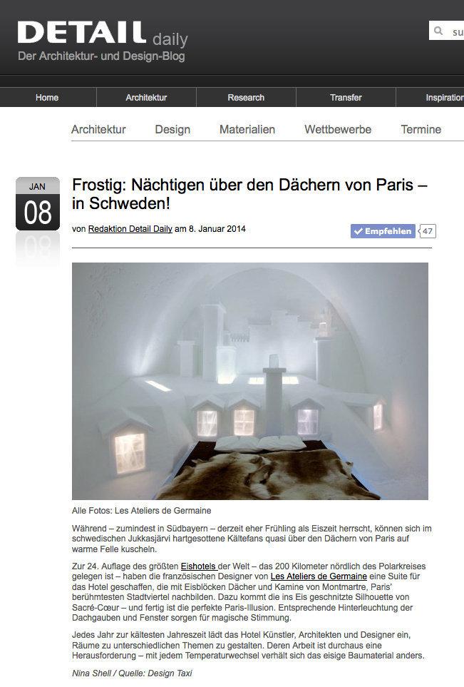DETAIL (Allemagne) - 08/01/14