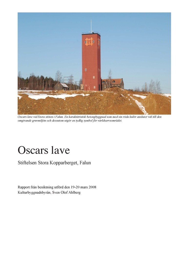 Oscars lave Falu gruva