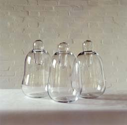 Three Vases with Stopper