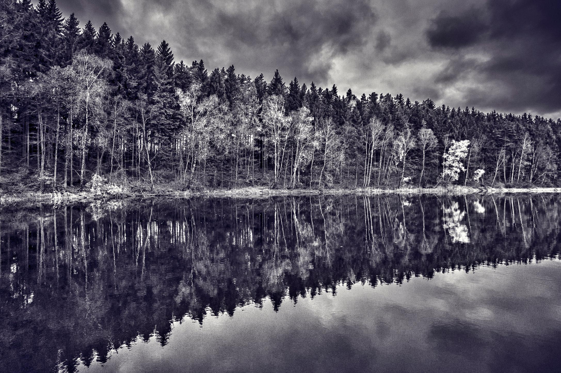 Skape Lake Reflection