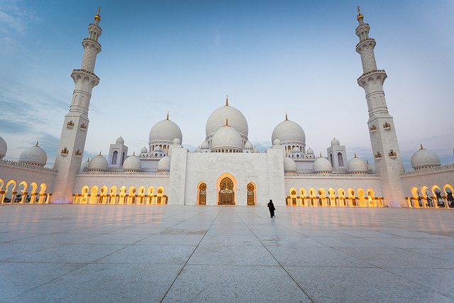 "Sheikh Zayed Mosque ""Road to the Light"""