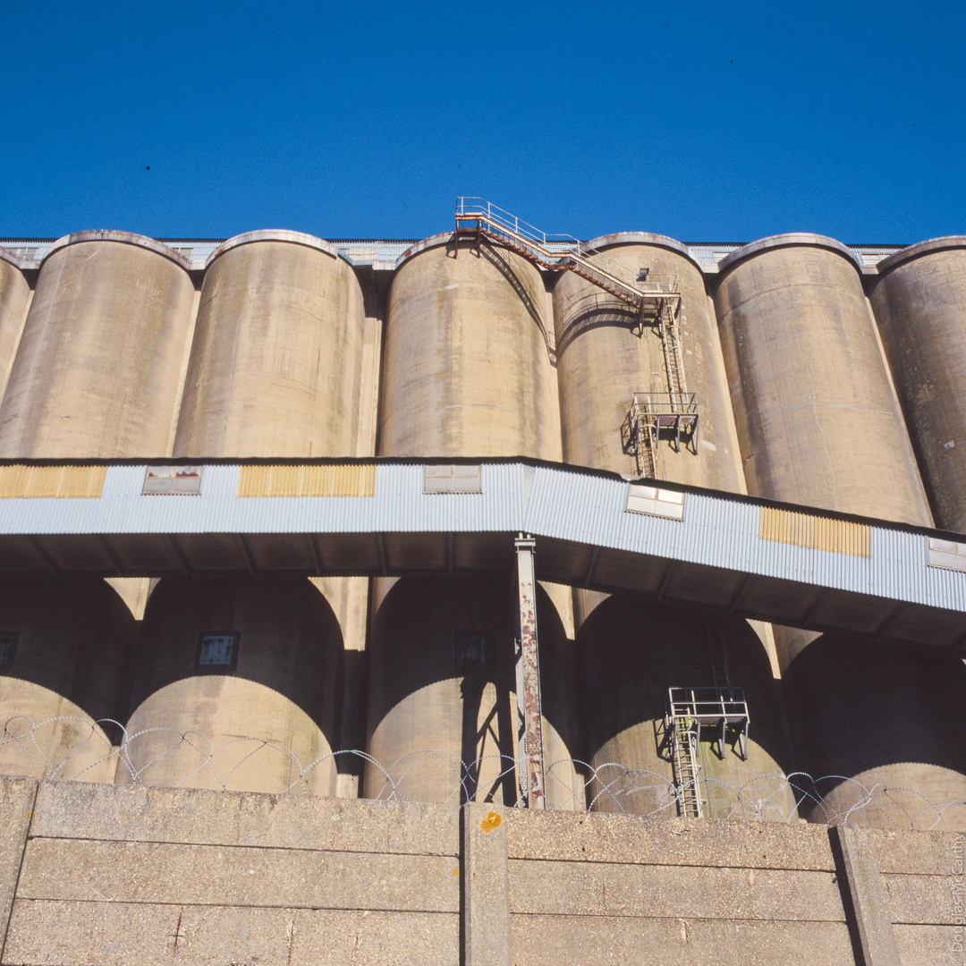 Silos at Grays, Essex