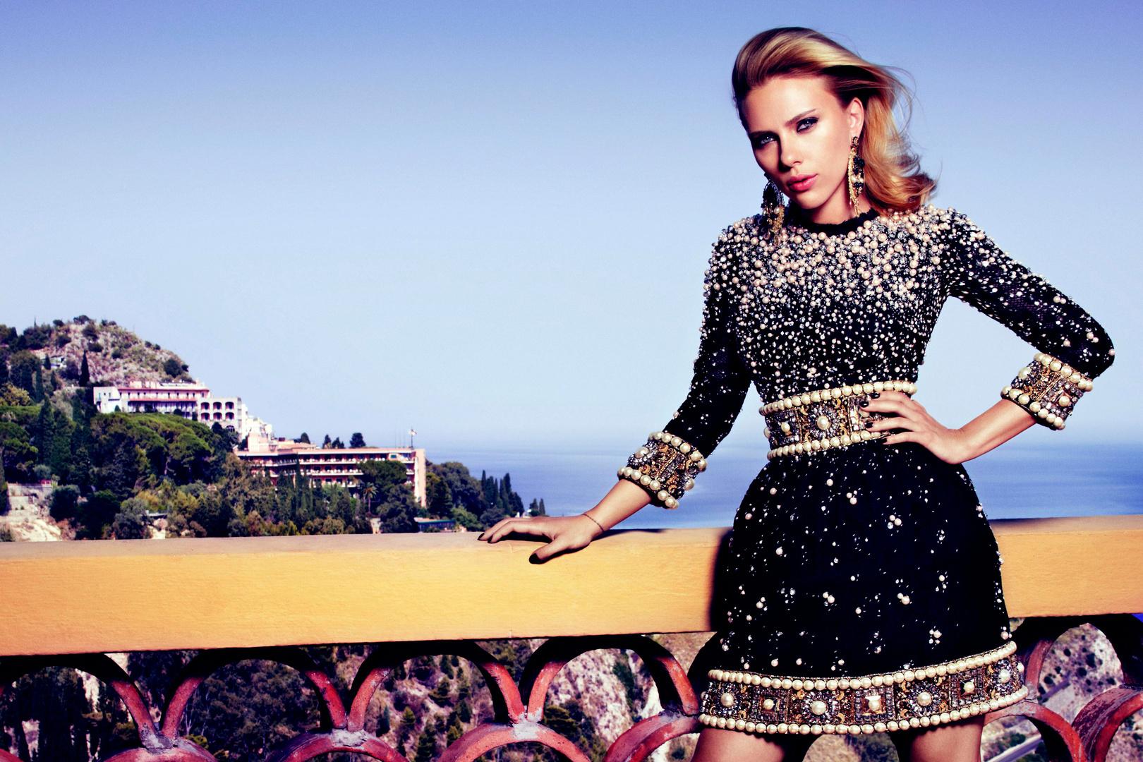 Vogue Russia. Scarlett Johansson. Alta Mater, October 2012