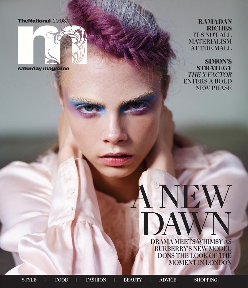 Cara Delevigne for M Magazine 2011